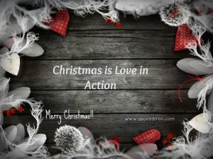 Christmas is love in action