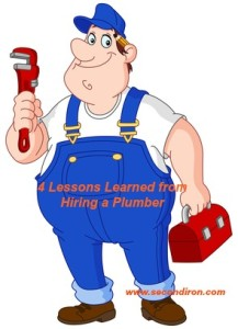 Lessons from a plumber