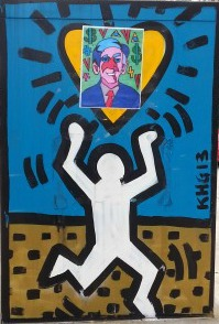 haring, haring's ghost, artist