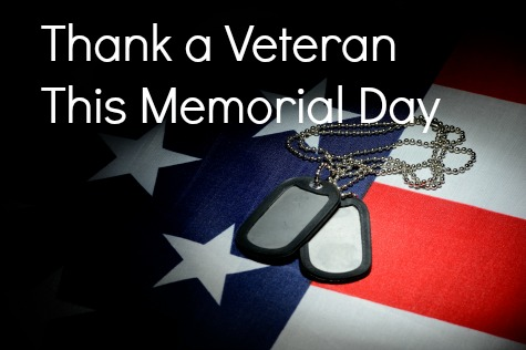 Thank a veteran this memorial day 2015, veterans