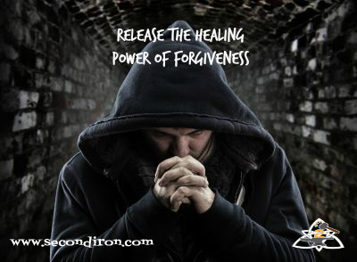 Despair bandit praying God for forgiveness, Release the Healing Power of Forgiveness