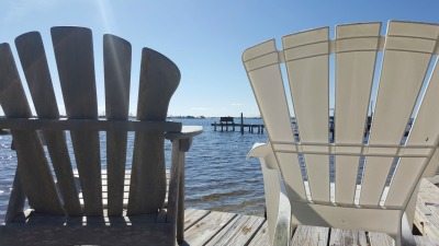 Chairs on the sound