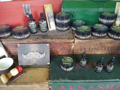 Mancanics, Shave, Shaving Cream, Riverside Arts Market