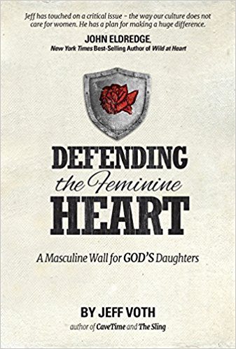 In, Defending the Feminine Heart, Jeff Voth exposes Satan's tactics to destroy the role of masculinity, in order to capture God's daughters - our wives, daughters, sisters, and mothers. Woman was taken from the side of man where she could be protected, covered, and defended. First breached in the Garden of Eden, the enemy has strategically degraded the masculine wall in his pursuit to harm the feminine soul.
